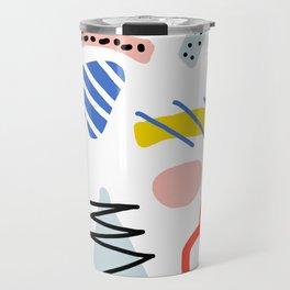 Memphis Zazzle Travel Mug