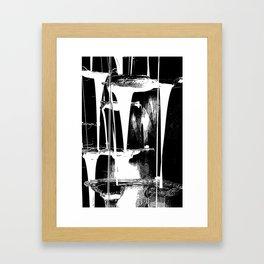 Cascata I Framed Art Print