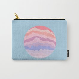 Planetary Deluge | Pastel Space-scape Carry-All Pouch