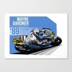 Wayne Gardner - 1989 Phillip Island Canvas Print