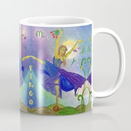 Zodiac Virgo Coffee Mug