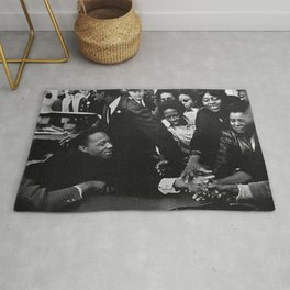 Martin Luther King, A Portrait Rug