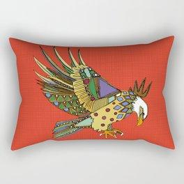 jewel eagle fire Rectangular Pillow