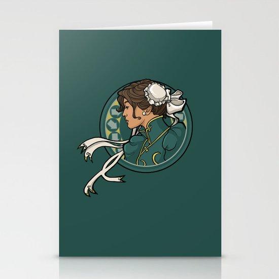 Chun-Li Nouveau Stationery Cards