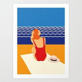 Still Summer Art Print