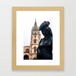 La Regenta Framed Art Print