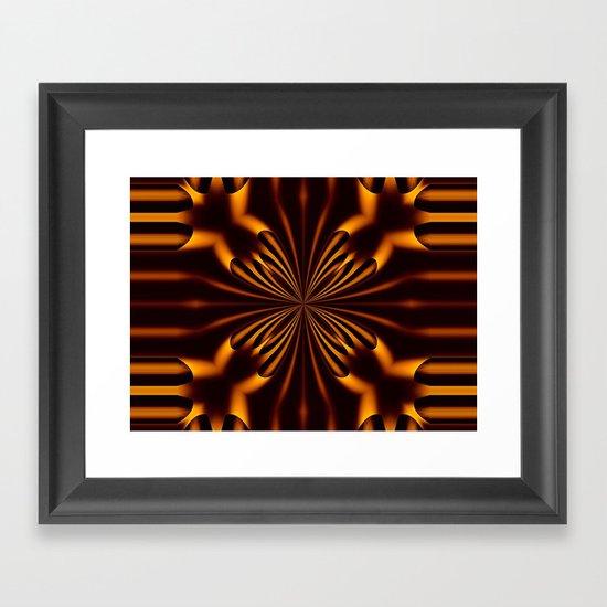 Light and Shade Framed Art Print
