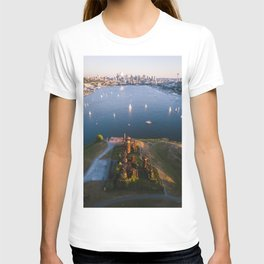 Gas Works and Lake Union T-shirt