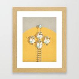 circus 002 Framed Art Print