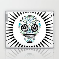 Sugar Skull SF multi -  on white Laptop & iPad Skin