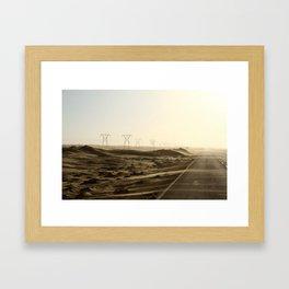 Power of the Dunes Framed Art Print