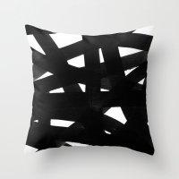 georgiana paraschiv Throw Pillows featuring TX02 by Georgiana Paraschiv