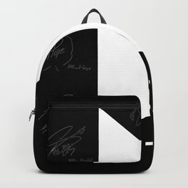 BTS Logo& Signature Backpack