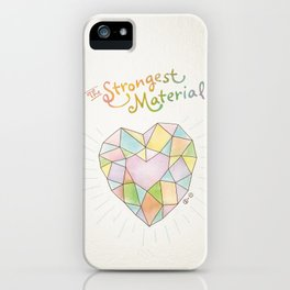 The Strongest Material iPhone Case