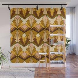 Art Deco meets the 70s Wall Mural