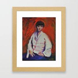 Second Impression Framed Art Print