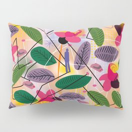 Yoga in the Park Pillow Sham