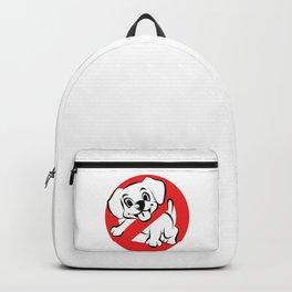 Dog Busters Funny Ghost Novelty Gift Design Backpack