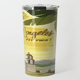 Vintage poster - Los Angeles Travel Mug