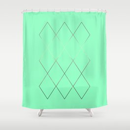 moses interlace Shower Curtain