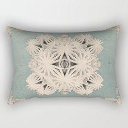Ancient Calaabachti Filigrane Rectangular Pillow