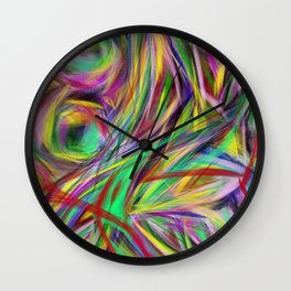 Weekend Drifting Wall Clock