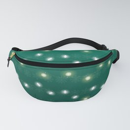 Christmas Light Green Fanny Pack