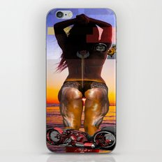 the sun set iPhone & iPod Skin