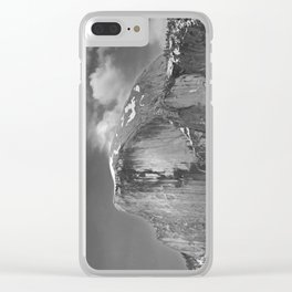 Half-Dome B&W Clear iPhone Case