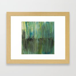 Hide-out in the reeds Framed Art Print