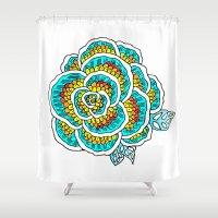 gypsy Shower Curtains featuring Gypsy by Samantha Scafidi