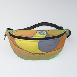 Baby Bird Smiling in the Jungle! Fanny Pack