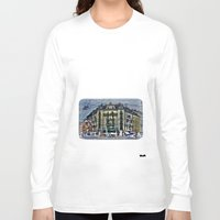 switzerland Long Sleeve T-shirts featuring Geneva -  Switzerland by Vehen§Nes
