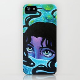 Pond Girl iPhone Case