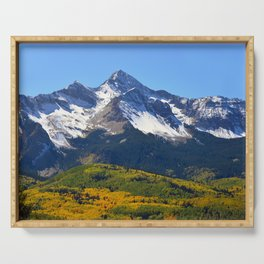 Wilson Peak Colorado Serving Tray