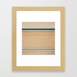 the pages of a book ... Framed Art Print