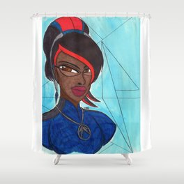 The Good Witch Shower Curtain
