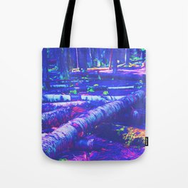 Logs of Colour Tote Bag