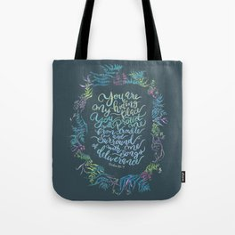 You Are My Hiding Place - Psalm 32:7 Tote Bag
