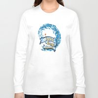 finding nemo Long Sleeve T-shirts featuring just keep swimming.. finding nemo by studiomarshallarts