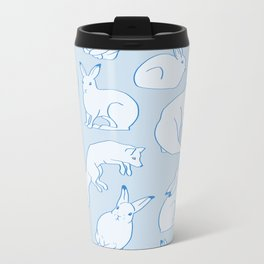 Arctic Pattern Metal Travel Mug