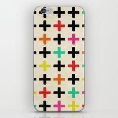 Plus Signs iPhone & iPod Skin