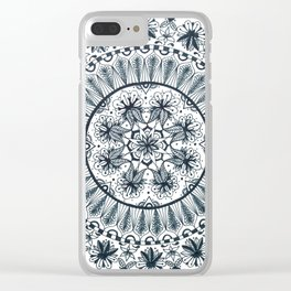 Awaken Nature Mandala Clear iPhone Case