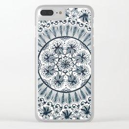 Awaken Nature Mandala Clear iPhone Case
