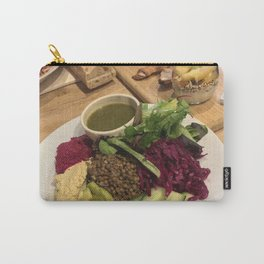 The French Vegan, To Your Health Carry-All Pouch