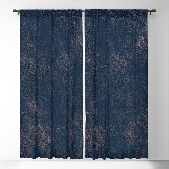 Dark Blue Navy Marble Textured Wall