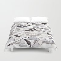 orca Duvet Covers featuring ORCA by Alex Rocha