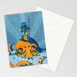 Holy Diver Stationery Cards