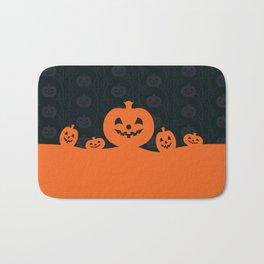 Pumpkins Design Bath Mat