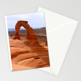 Delicate Arch A Famous Landmark Stationery Cards